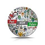 1 pcs Moneda Conmemorativa De Acrílico Sobrevivientes Sobrevivientes 2020 Moneda Conmemorativa De Doble Cara- Monedas Conmemorativas 2020-reuniones Familiares, Souvenirs (C)