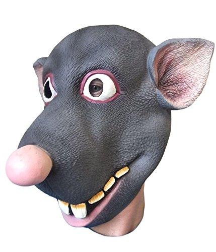 RODDY Ratten Maske, Latex Film Qualität, bachelor Party, Kostüm Masken, Splinter