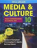 Loose-leaf Version for Media & Culture  2016 Update 10e & LaunchPad for Media & Culture with 2016 Update 10e