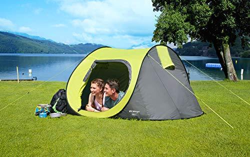 BERGER Wurfzelt Ponte 3 Automatikzelt Camping Trekkingzelt Sonnenschutz Strand Zeltlager Outdoor