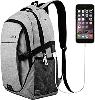 Hoperay Lightweight Travel Laptop Backpack with USB Charge Port