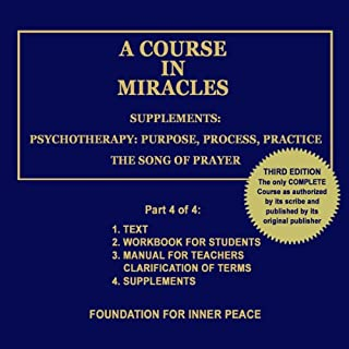 A Course in Miracles: Supplements, Vol. 4 audiobook cover art