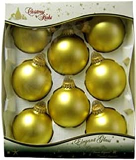 Ornaments Glass Krebs Gold Velvet Holiday Trim Sets [70217]