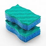 148423 - No-Scratch Scrunge Sponge - O'Cedar No-Scratch Scrunge Sponge, Vileda Professional-FHP - Case of 16