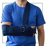 ORTONES | Armschlinge zur Immobilisierung des Arms Schulter | Einheitsgröße | Blau