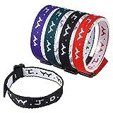 24 (2 Dozen) Wwjd Religious Bracelets Christian Wrist Bands and Church Event Fundraisers (Original Version) (Original Version)