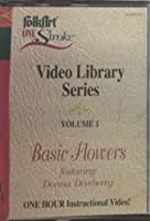 Folk Art One Stroke Video Library Series, Vol. 1: Basic Flowers (How-to Instructional Video)