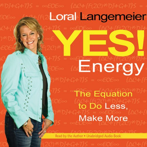 Yes! Energy audiobook cover art