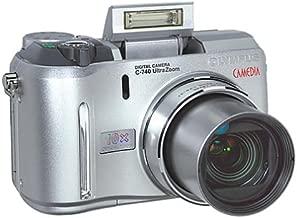 Olympus C-740 3MP Digital Camera with 10x Optical Zoom