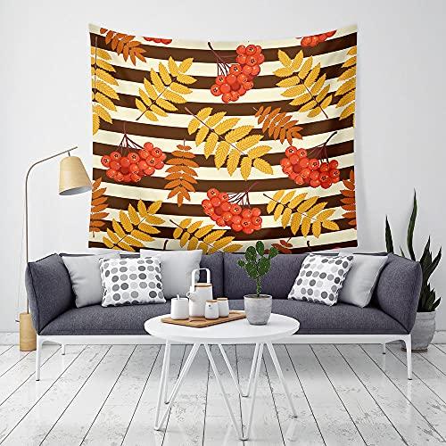Tapiz Tapiz de Pared Tapices de Pared,Decoraciones para el hogar Impresión Digital Simple Manta de Hojas Toalla de Playa paraDormitorio Dormitorio Sala de Estar-E_200x150cm