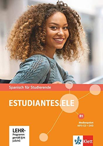 Estudiantes.ELE B1: Spanisch für Studierende. Medienpaket (MP3-CD + DVD) (Estudiantes.ELE / Spanisch für Studierende)
