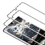 RIIMUHIR 2 Pack Protector Pantalla para Huawei P30 Pro Cristal Templado, [3D Curvado Completa Cobertura] [Sin Burbujas] [Dureza 9H] Vidrio Templado HD Protector Pantalla para P30 Pro