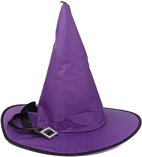 Guirlandes lumineuses 1 pièces Halloween décoration sorcière chapeaux LED lumières casquette Halloween Costume accessoires...