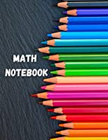 Math Notebook: Large Simple Graph Paper Notebook / Mathematics and Science Notebook / 120 Quad ruled 4x4 pages 8.5 x 11 / Grid Paper Notebook for Math and Science Students