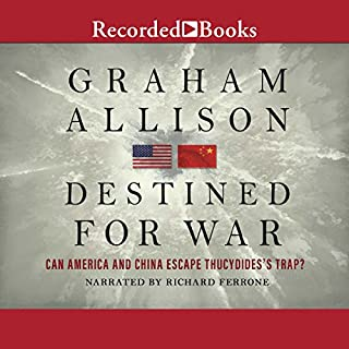 Destined for War audiobook cover art