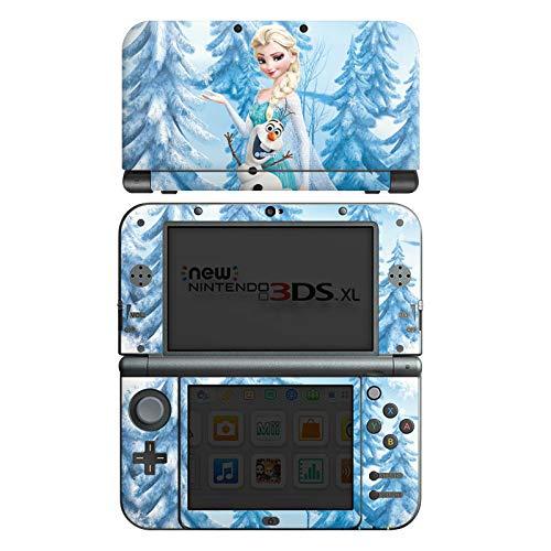 DeinDesign Skin kompatibel mit Nintendo New 3DS XL Folie Sticker Frozen ELSA Offizielles Lizenzprodukt Disney