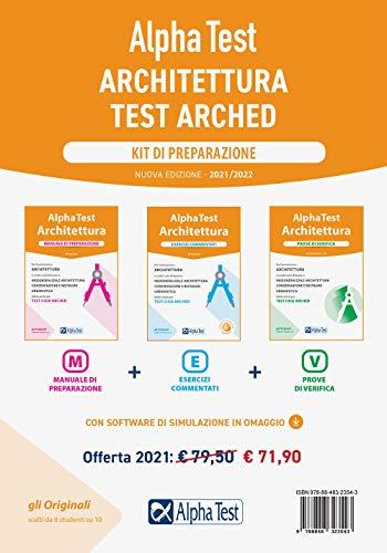 Alpha Test Architettura. Kit di preparazione. Nuova ediz. Con software di simulazione