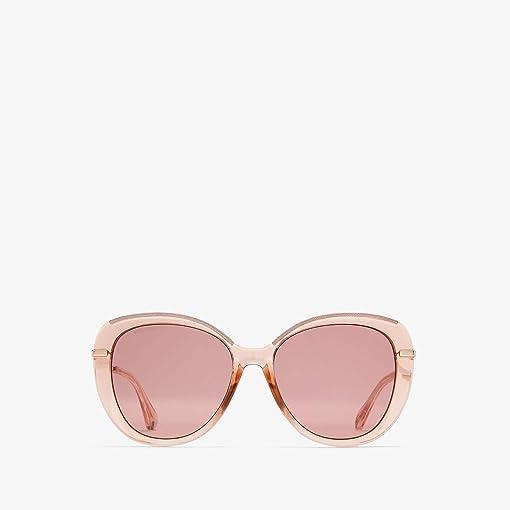 Pink Glitter/Burgundy