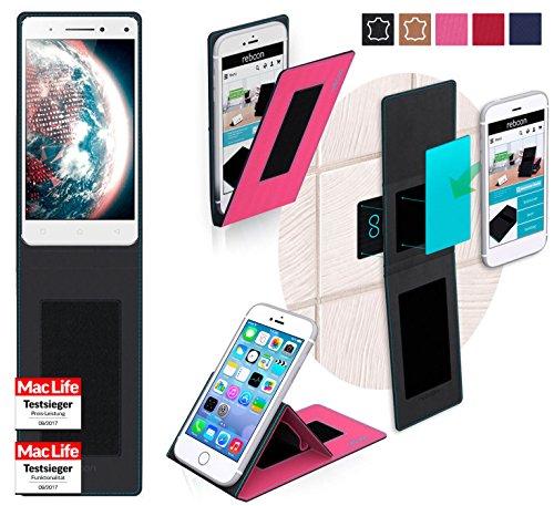 Hülle für Lenovo Vibe S1 Lite Tasche Cover Hülle Bumper   Pink   Testsieger