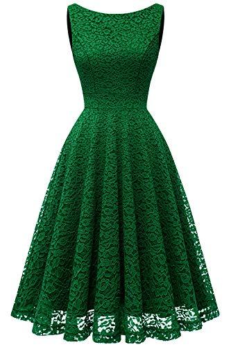 Bbonlinedress Vestido Corto Elegante Mujer De Encaje Boda