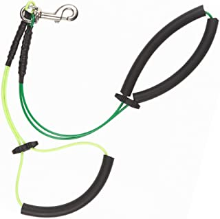 ASOCEA No Sit Haunch Holder Dog Grooming Restraint Cable Loop for Small Medium Dogs
