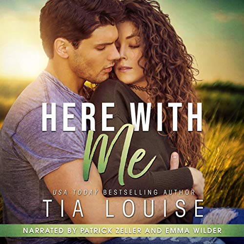 Here with Me audiobook cover art
