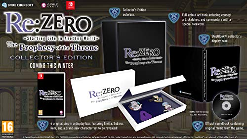 Re:ZERO - The Prophecy of the Throne Limited