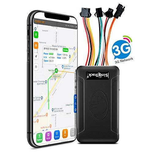 SinoTrack Localizzatore GPS per auto, Localizzatore GPS ST-906W 3G Dispositivo di localizzazione in tempo reale della posizione, Dispositivo GPS per moto per auto per camion Taxi Bus
