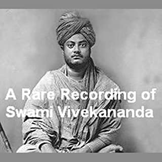 A Rare Recording of Swami Vivekananda cover art