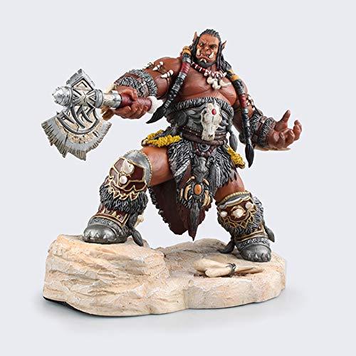 YHX World of Warcraft, Alliance Horde Shadow Time, Large Version of Warcraft Durotan, Orgrim, Model Figure