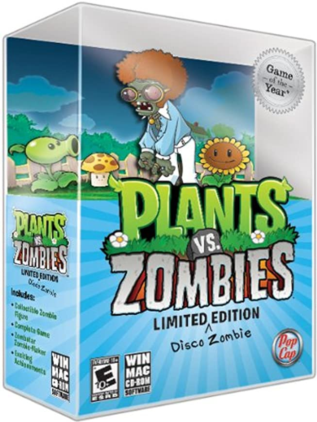 考える不注意現代Plants vs Zombies Game of the Year Disco Zombie Limited Edition (輸入版)