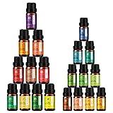 ANEAR Ätherische Öle - Geschenkbox (10 x 10 ml, 10 x 5ml) 20 Duft für Aromatherapie Massage...