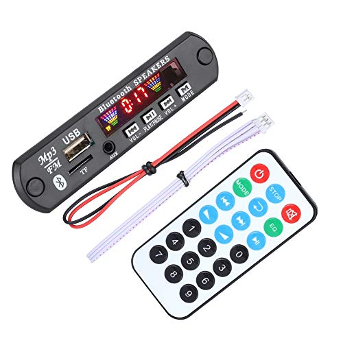 Decodierungsplatine Drahtlose Bluetooth MP3 WMA Decoderplatine SDM01BT + U-DX 4 Farben Bildschirm Bluetooth 5.0 FM APE FLAC Decoder Board Modul mit AUX,FM, USB,TF