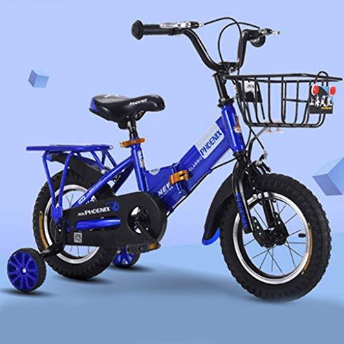 LDDLDG - Bicicleta de niña de 12 pulgadas, 14 pulgadas, 16 pulgadas,...