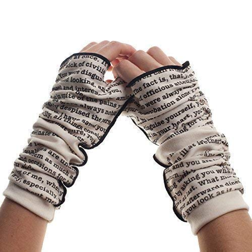 Pride and Prejudice Fingerless Writing Gloves