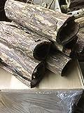 Riesenhöhle der Wunderwaffe Seemandelbaum für Kenner (Ø~5-6cm, Länge ~15cm, ca.100gr) Deko Aquarium, Wasseraufbereiter, Catappa Bark Tubes, Welshöhle