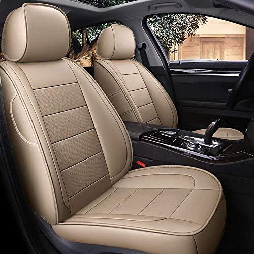SADGE - Funda de cuero para asiento de coche, impermeable, para Volkswagen EOS 2005-2016
