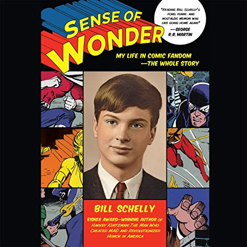 Sense of Wonder audiobook cover art