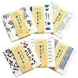TRANPARAN まごころふきん 台ふきん おまかせ6柄セット 蚊帳生地 7枚重ね 奈良県産 日本製