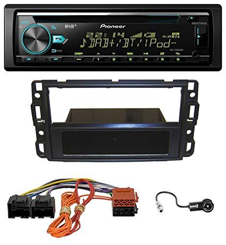 caraudio24 Pioneer DEH-X7800DAB DAB MP3 CD USB Bluetooth Autoradio für Cadillac BLS (2006-2010)