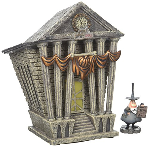 Department 56 Villages Nightmare Before Christmas Halloween Town City Hall Standard