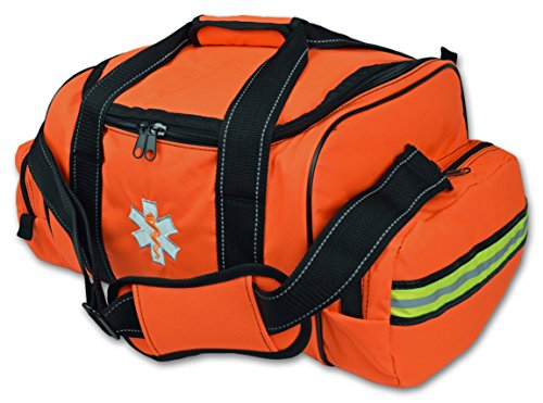 Lightning X Large EMT First Responder Bag w/Dividers - Florescent Orange