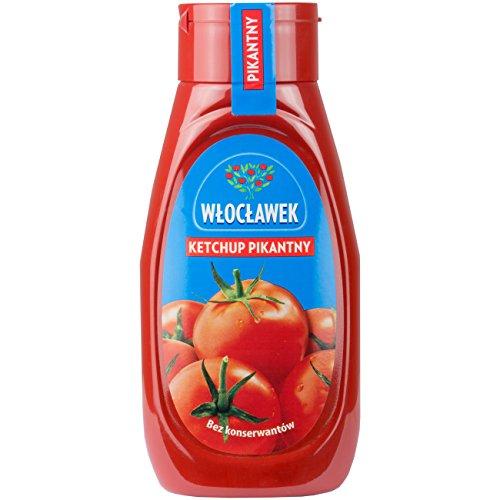 Wloclawek Ketchup pikant - Tomatensauce 480g