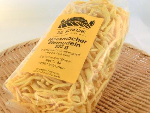 Die Scheune GmbH - Geschabte Spätzle Hausmacher Eiernudeln - 6 x 500g | Hausmacher Nudeln, Spätzle Nudeln, Eiernudeln, nudeln deutschland, nudeln 500g, Nudeln Großpackung, deutsche pasta, Pasta Nudeln, Nudeln für Kinder, Nudeln Kinderküche, Eiernudel, Nudeln jeden Tag,