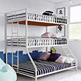 Best Triple Bunk Bed - Aprodz Chavez Twin/Twin/Full Size Metal Triple Bunk Bed Review