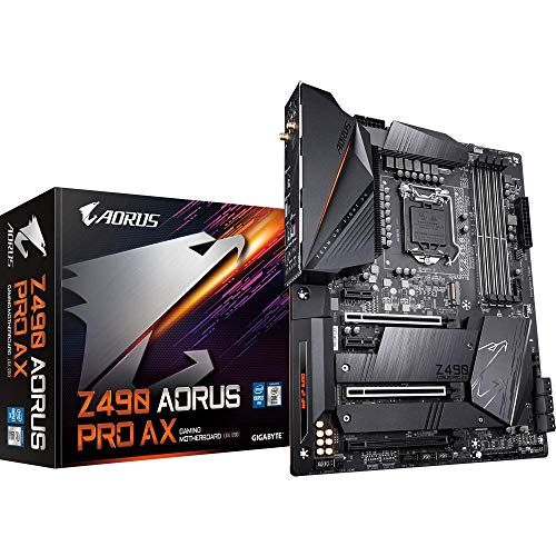 Gigabyte Motherboard Z490 AORUS PRO AX