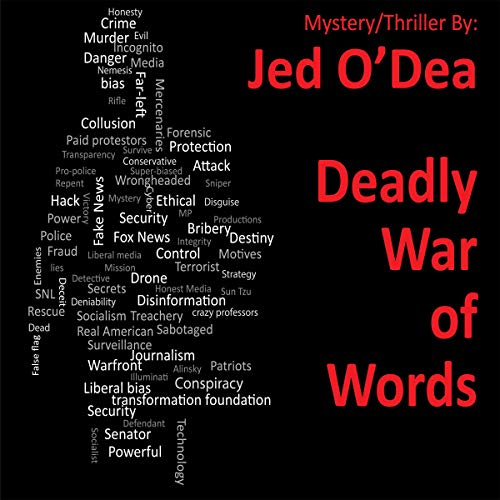Deadly War of Words: A Mystery/Thriller Titelbild