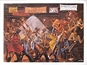 Ernie Barnes The Sugar Shack Print 24 x 34 in.