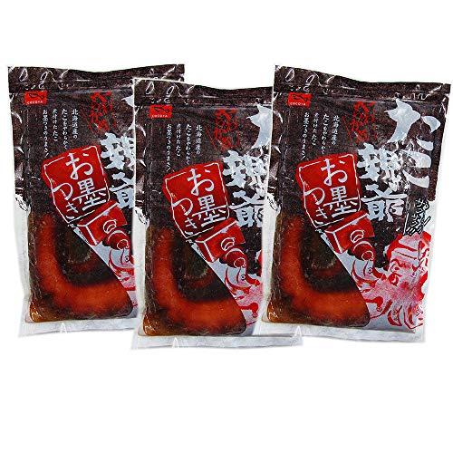 海鮮おつまみ たこ つまみ 北海道 蛸のやわらか煮 300g ×3個セット たこのやわらか煮 北海道産 ぐるめ食品
