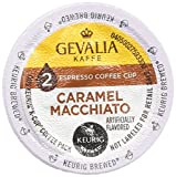 Gevalia 2-step Caramel Macchiato K-Cup Espresso Coffee and Froth Packets 9-Count (2 Pack)